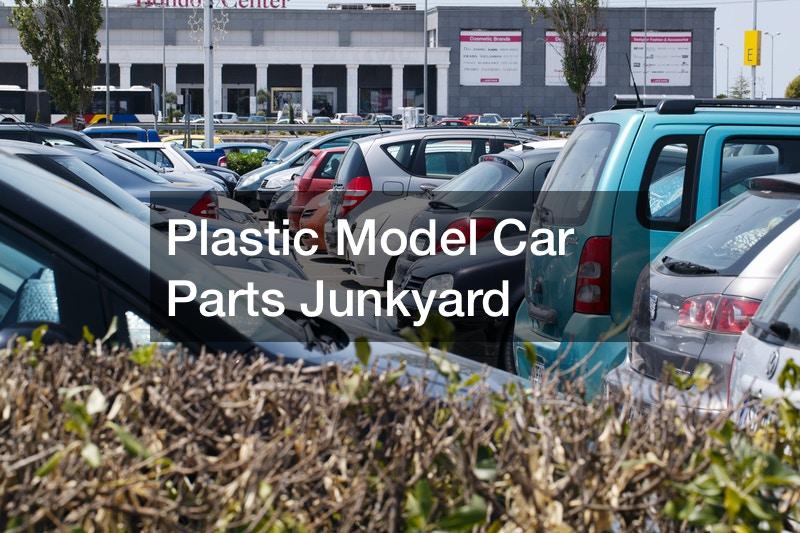 Plastic Model Car Parts Junkyard